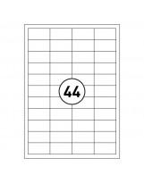 Etikete ILK 48,5x25,4 A4 100L Rillprint