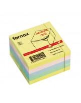 Samoljepivi listići 75x75mm Fornax pastel