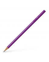 Grafitna olovka B Faber-Castell Sparkling ljubičasta