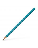 Grafitna olovka B Faber-Castell Sparkling petrol