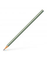 Grafitna olovka HB Faber-Castell Sparkling metalik zelena