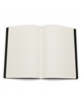 Bilježnica A4 crte Fabriano EcoQua Nero
