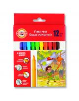 Flomaster školski 12 boje Koh-I-Noor